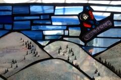 Audience (Slide Viewer, Three Ways) - Detail of snowboarding slide