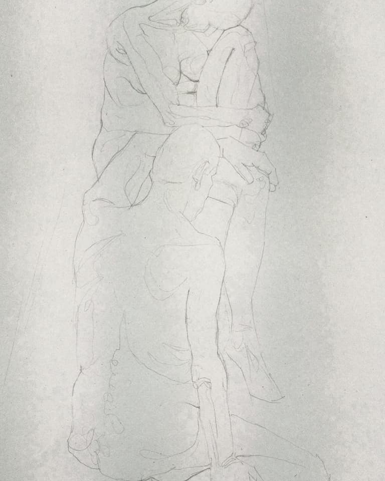 Life Drawing - couple