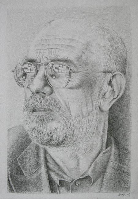 The artist Alan Slater