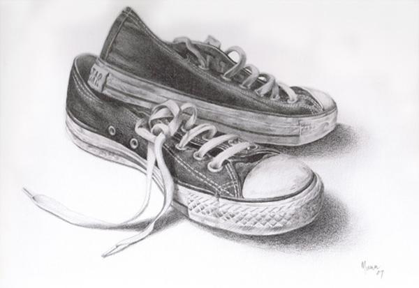 Knackered Converse