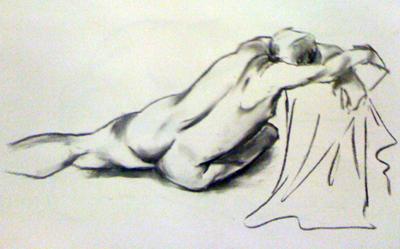 Life drawing - 2 minutes