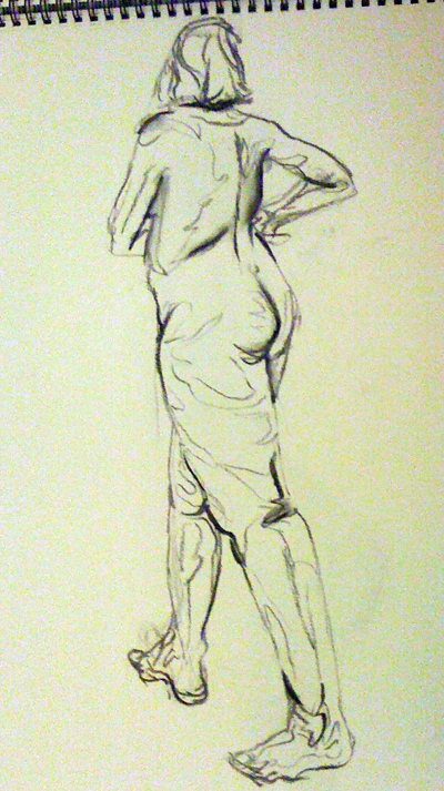 Life drawing - movement