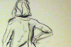 Life drawing - movement