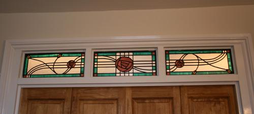 Macintosh inspired triple panels
