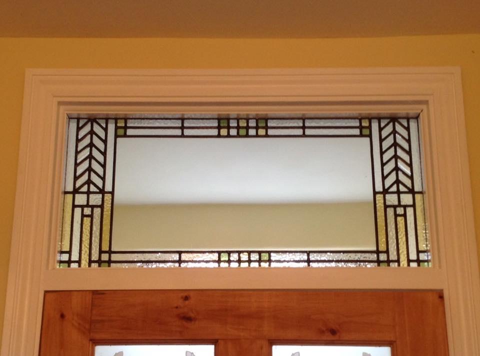 Frank Lloyd Wright inspired panel.