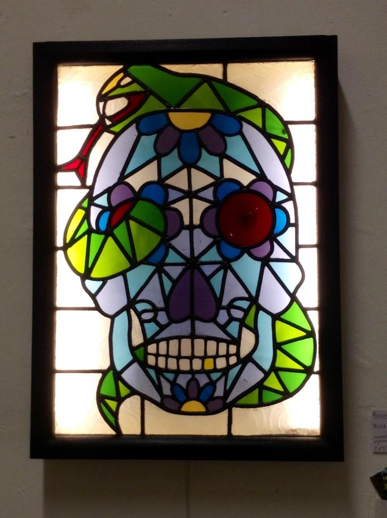 Skull Lightbox by Muna Zuberi