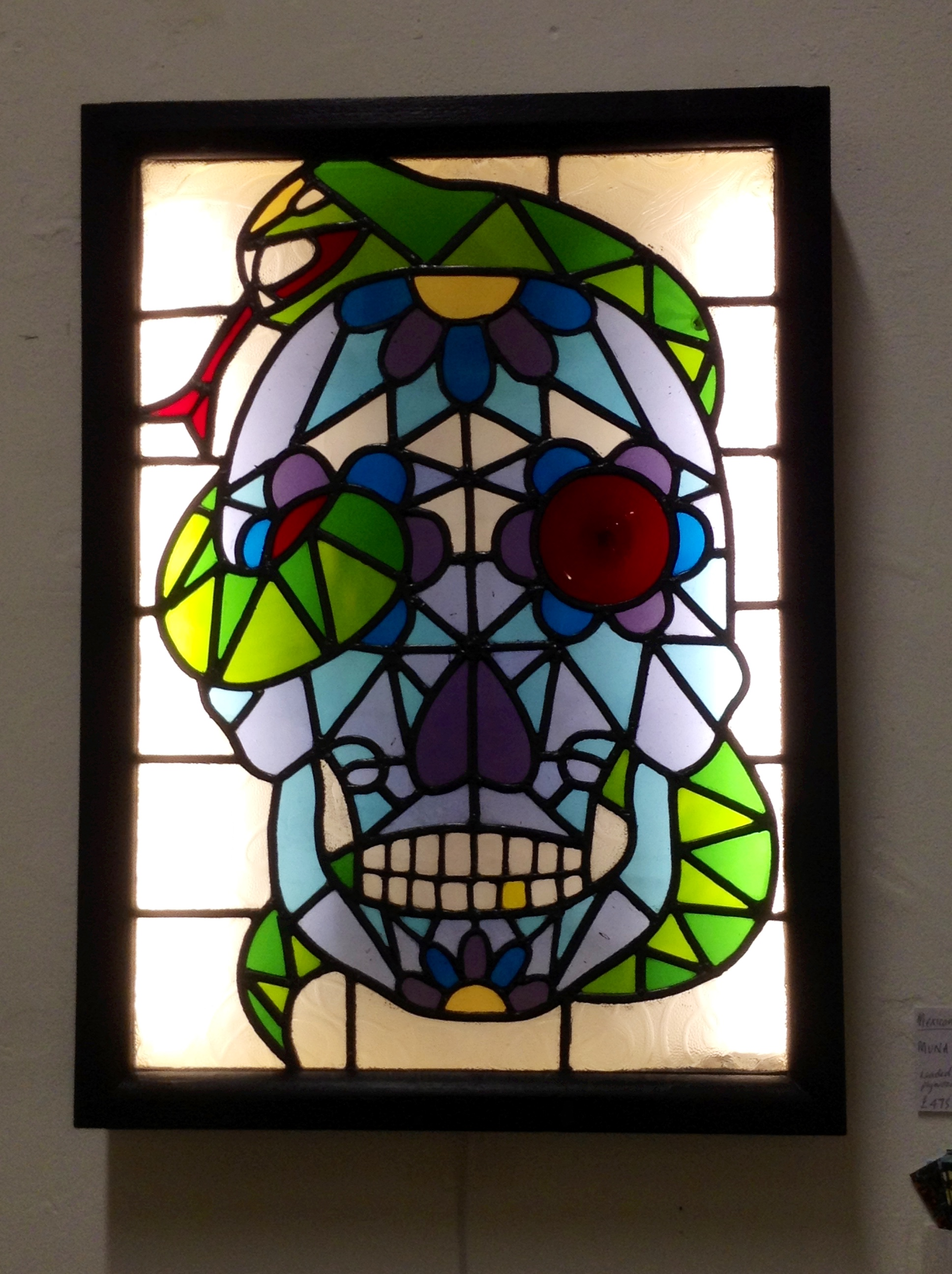Skull Lightbox by Muna Zuberi
